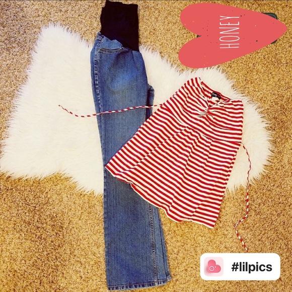 e7485edd279e9 Motherhood Maternity Jeans | Jean W Tube Blouse | Poshmark